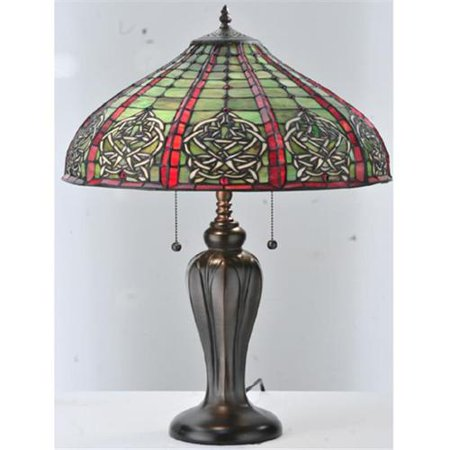 meyda tiffany 107804 24 inch h dublin table lamp. Black Bedroom Furniture Sets. Home Design Ideas