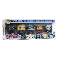 Captain America Civil War Funko Pop! Disney Store Europe Exclusive 5-Pack