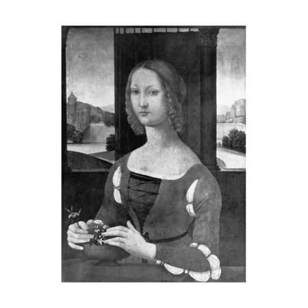 Portrait Painting of Caterina Sforza Print Wall (Portrait Painting Video)