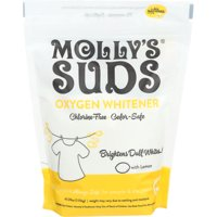 Molly's Suds Oxygen Whitener Powder, 40.58 Oz