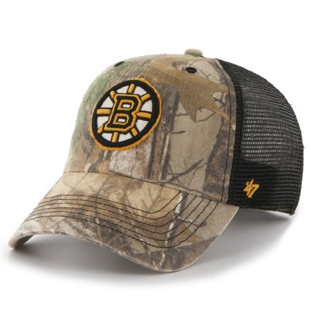 72d6a43126d Boston Bruins  47 Huntsman Closer Flex Hat - Realtree Camo - Walmart.com