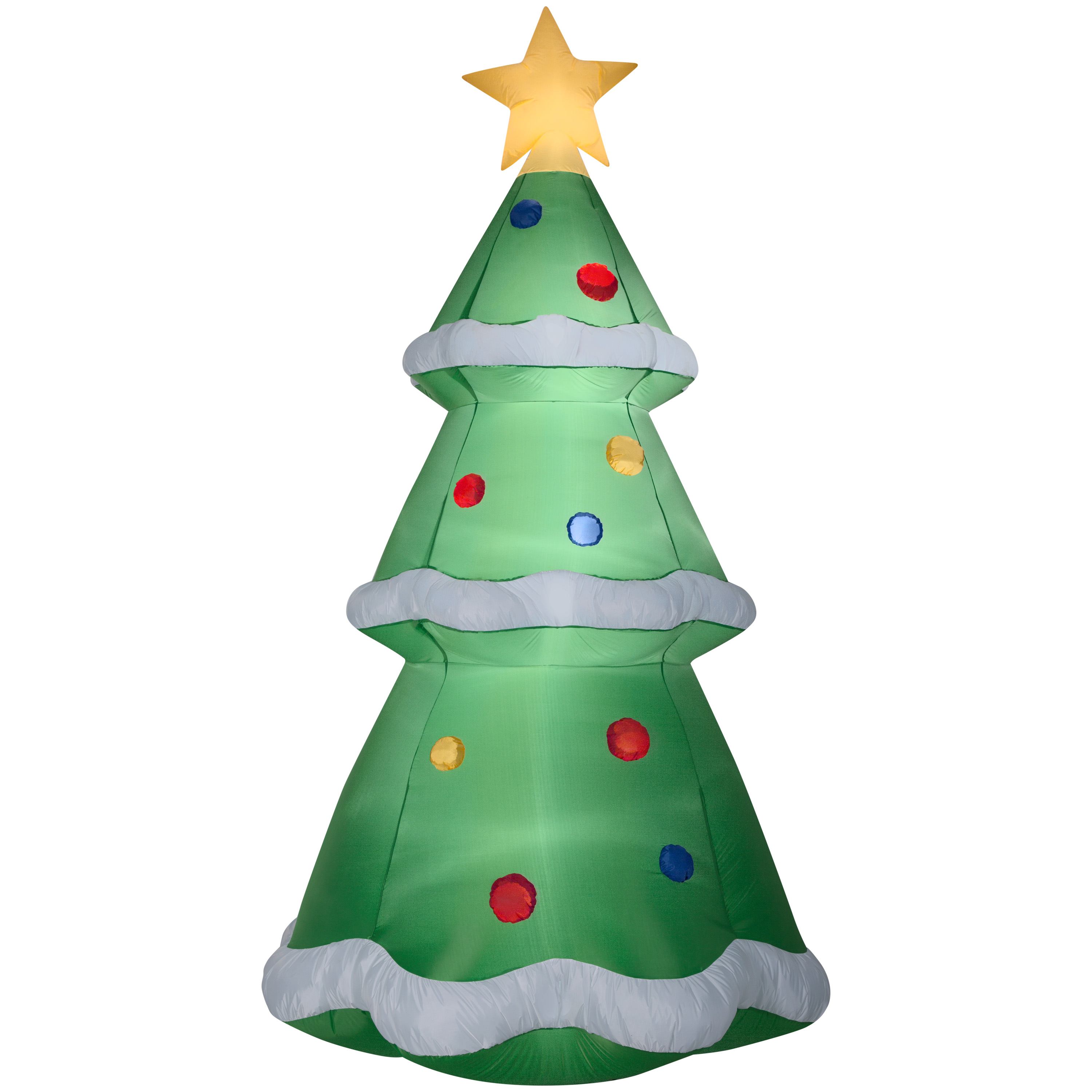 Airblown Inflatable Christmas Tree 10 ft Christmas Decoration by ...