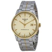Tissot Powermatic 80 Ivory Dial Men's Watch (T0864072226100)