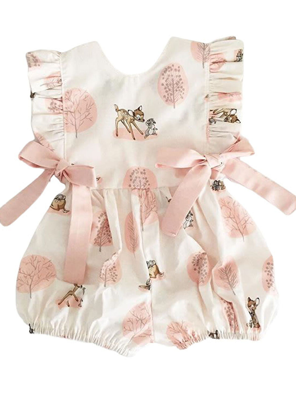 Baby Girl Unicorn Romper Toddler Casual Summer Bodysuit Playsuit Clothes Outfits