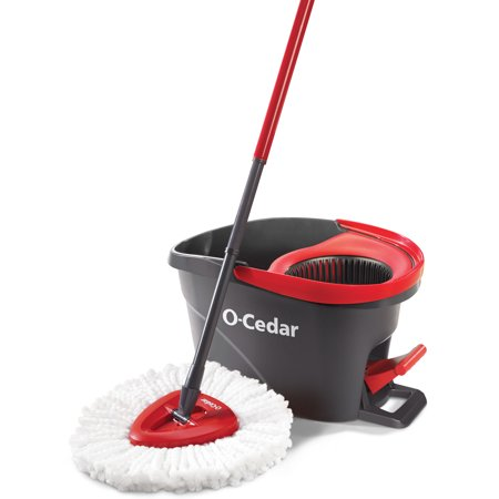 O-Cedar EasyWring Spin Mop & Bucket System (Oyster Mop)