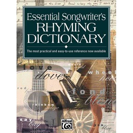 Essential Songwriter's Rhyming Dictionary : Pocket Size Book - Music Tech Dictionary