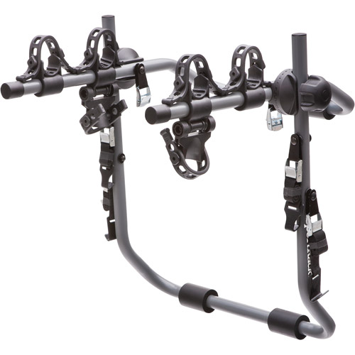 SportRack SR3161 Pursuit 2 Rear Mount Bike Carrier, 2-Bikes, Granite Gray