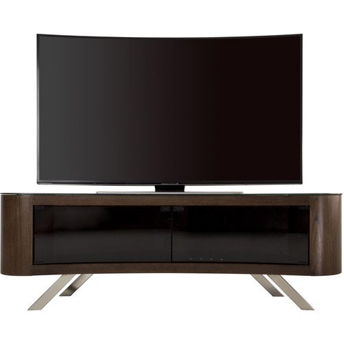 Avf Bay Curved Tv Stand For Tvs Up To 70 Walmart Com