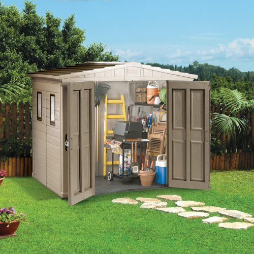Keter 17187140 Apex 8 x 6 ft. Storage Shed