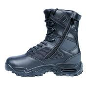 Ridge Outdoors Men's '9000' Black Mid-calf Leather and Nylon Boots 9.0W