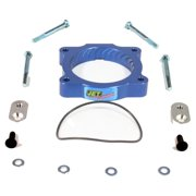 Jet Performance 62134 Throttle Body Spacer, Blue Anodized Aluminum
