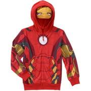 Marvel Iron Man Boys Costume Hoodie