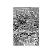 """Aerial of The Art Museum Construction, Philadelphia, Pa"" Print (Unframed Paper Print 20x30)"