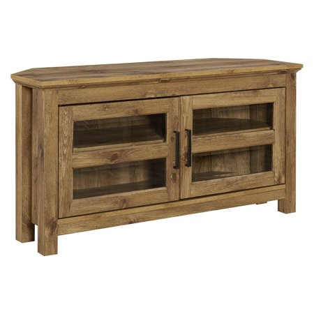 Manor Park 44-in. Wood Corner TV Media Stand Storage Console