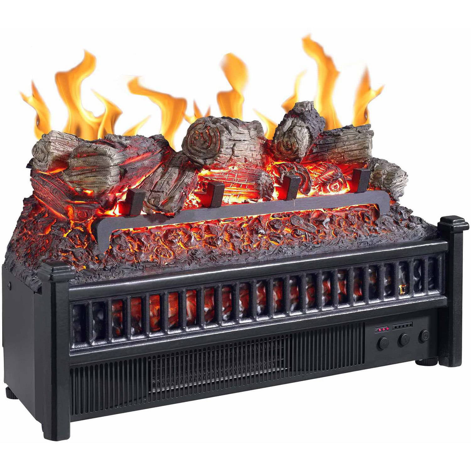 Electric Log with Heater - Walmart.com