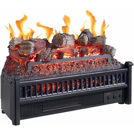 Electric Log with Heater - Electric Log With Heater - Walmart.com