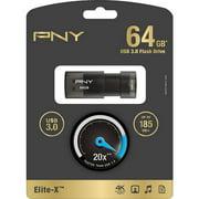 PNY 64GB Elite-X, USB 3.0