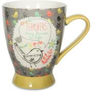 "Pavilion Gift Company 74039 Teacher Ceramic Mug, 16 oz., 5"", Mulicolored"