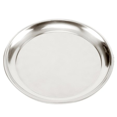 """Norpro Heavy Gauge Stainless Steel 15.5"""" Professional Pizza Pan Serving Tray"""