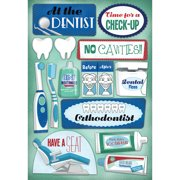 Cardstock Stickers-Dentist/Orthodontist