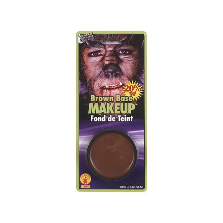 Brown Grease Makeup Rubies 18165, One Size