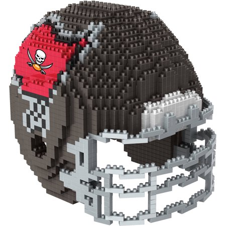 Tampa Bay Buccaneers 3D Helmet BRXLZ Puzzle Building Bobland Bay