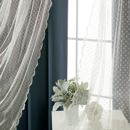 Best Home Fashion Wide Dot Lace Blackout Mix and Match (Best Widgets For Windows 7)