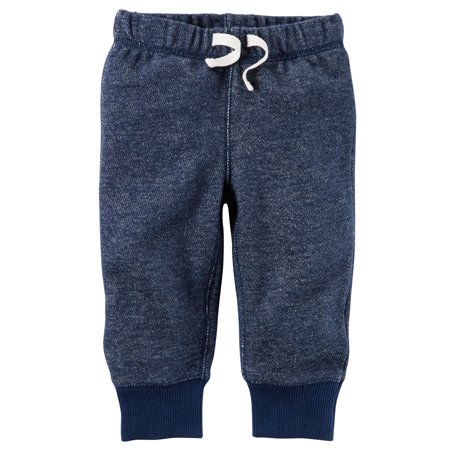 Carter's Baby Boys' Brushed Fleece Pull-On Pants- 3 Months Carters Toddler Boys Pull