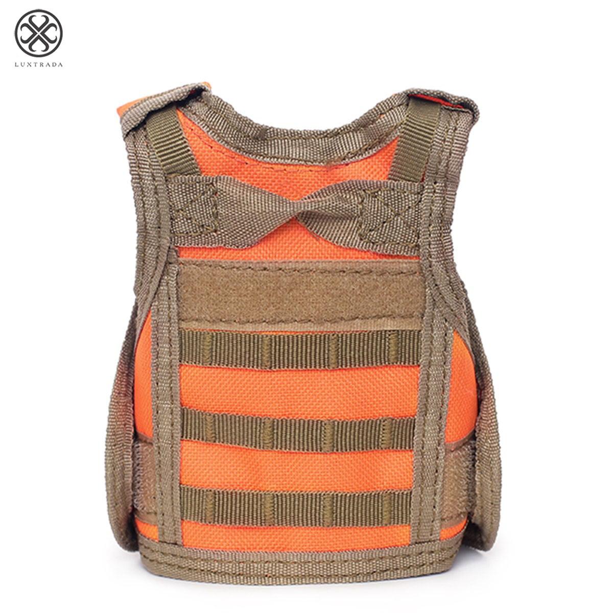Tactical Beer Vest Adjustable Wine Bottle Cover Molle Miniature Beverage Jacket