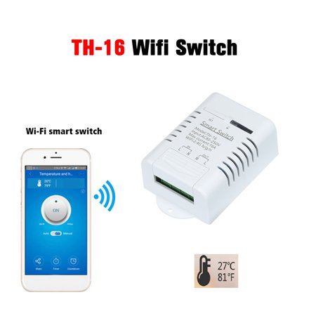 eWeLink -16 Wifi Switch 16A/3500W Monitoring Temperature Smart