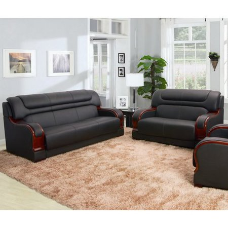 Red Barrel Studio Murphree 2 Piece Leather Living Room Set - Walmart.com