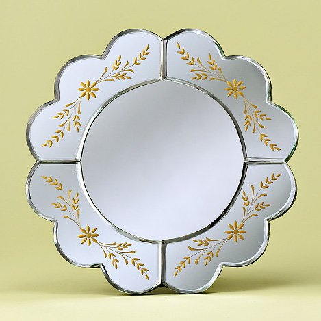Aleya Tabletop Venetian Mirror - 13.5W x 13.5H in.