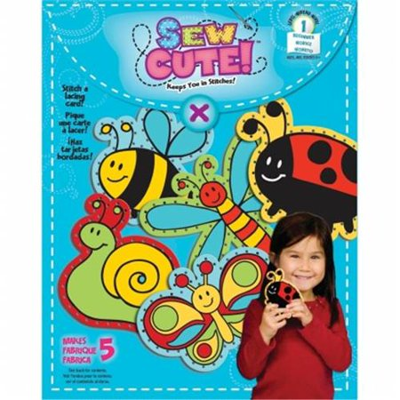 Ewing Card (Colorbok 68356 Sew Cute Lacing)