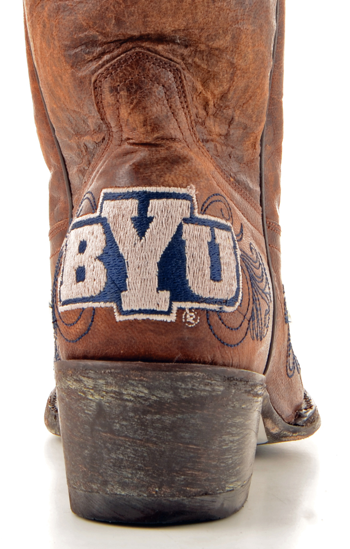 Gameday Team Boots Womens College Team Gameday BYU Cougars Brass BYU-L029-1 73cba1