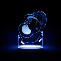 Total Dreamz Elephant Multicolored LED Night Light
