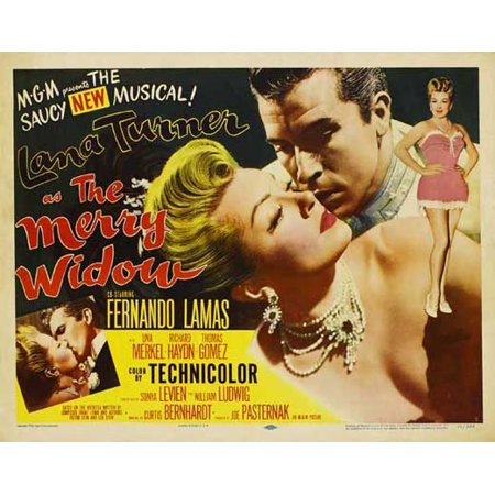 Lace Merry Widow (Merry Widow - movie POSTER (Style A) (11