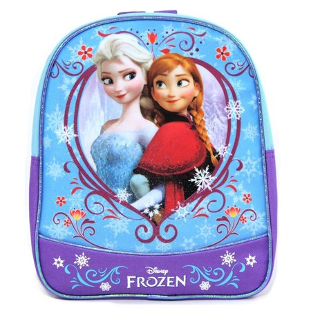 c435af7f422 Frozen 11 Mini Toddler Pre-school Backpack - Elsa   Anna Sisters - NEW -  Walmart.com