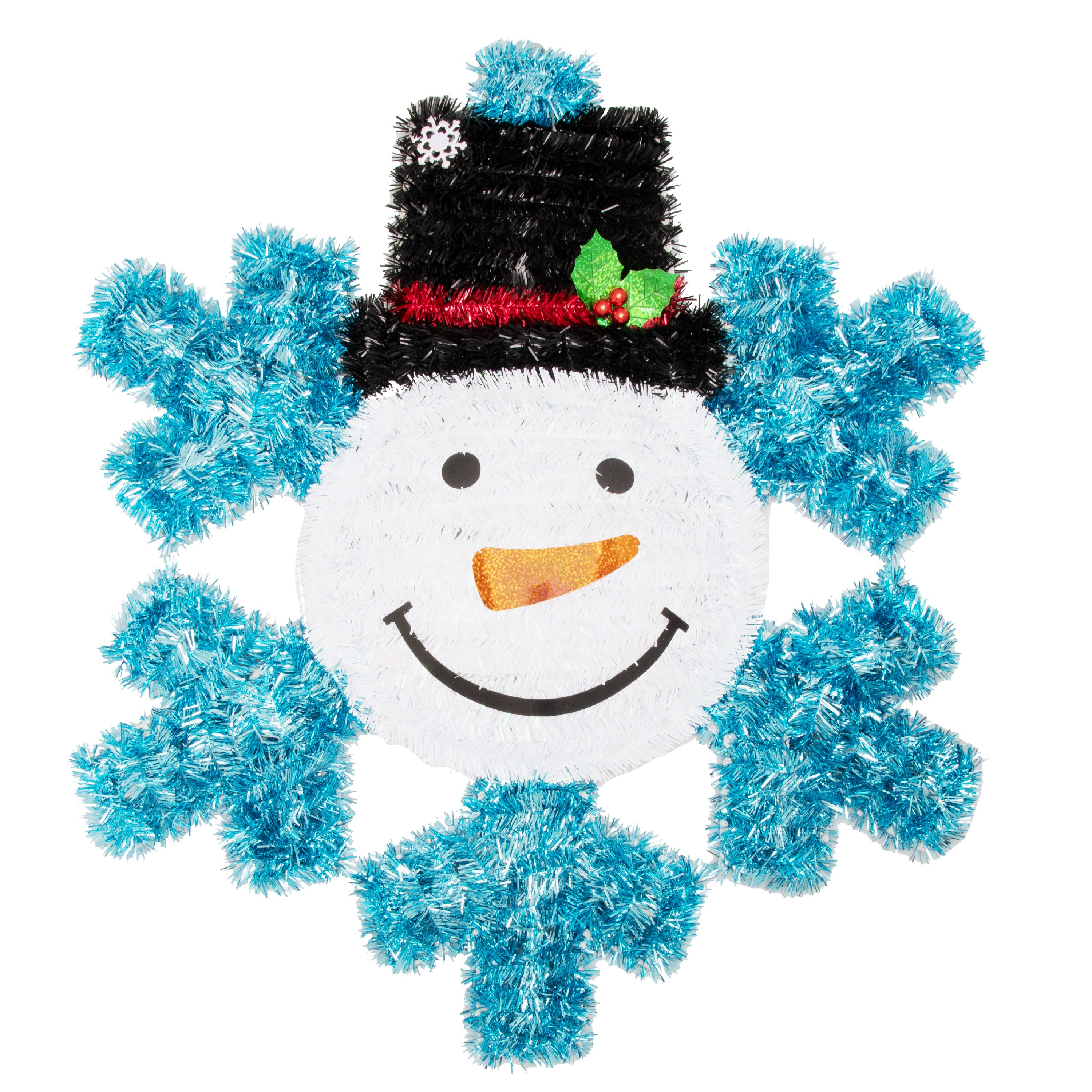 Holiday Time 2D SM SF Tinsel Decor