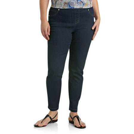 52330de2a1fec Faded Glory - Women's Plus-Size Jeggings - Walmart.com