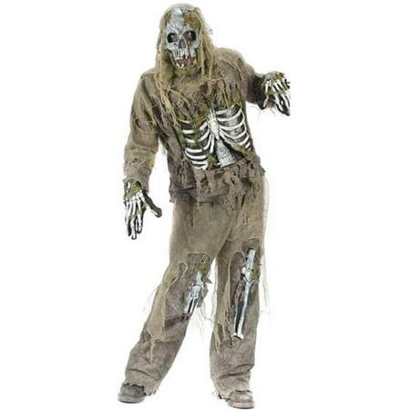 Teen Skeleton Zombie Costume