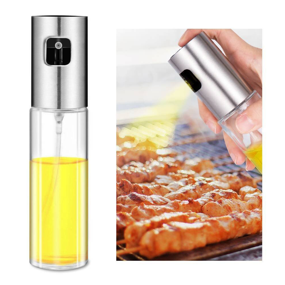 Olive Oil Sprayer For Cooking, Oil Mister Dispenser Bottle For Kitchen  Vinegar Spraying Cooking Baking