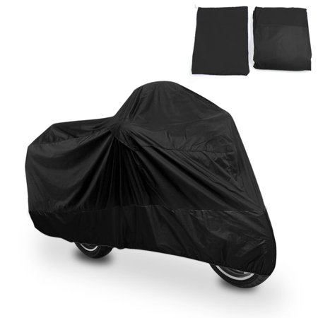 XXL 180T Black Motorcycle Cover For Harley Davidson Magna Shadow Spirit Sabre 600 750 1100 - image 8 of 8