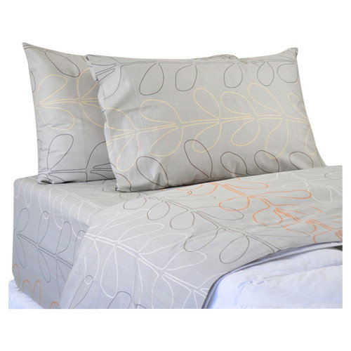 North Home Amelia 220 Thread Count Cotton Sateen Sheet Set