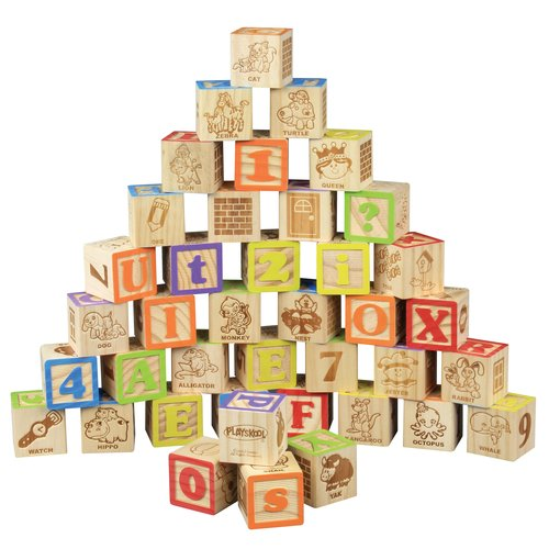 Playskool Alphabet Blocks 40 Piece Walmart Com