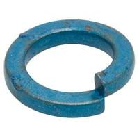 METRIC BLUE Split Lock Washer,Bolt M3,Steel,PK100 UST187437