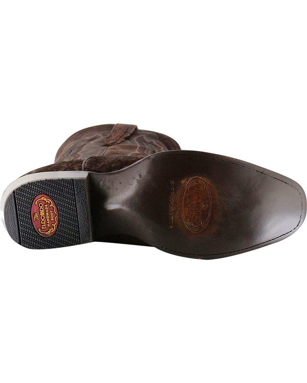 f7d086a9806 El Dorado - El Dorado Men's Genuine Sueded Hippo Western Boot Square ...