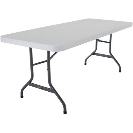 Lifetime 6' Commercial Folding Table, Multiple Colors