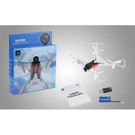 RC Drone HD Camera Quadcopter 2.4GHz Remote Control 4CH 3D Flip Over Mini Helicopter - image 8 de 8