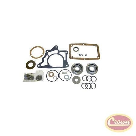 Crown Automotive T14BSG CAST14BSG 67-72 CJ-5/CJ-6/67-72 SJ/J-SERIES/67-71 C101/72-72 C104 TRANSMISSION OVERHAUL KIT