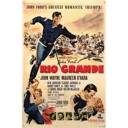 Rio Grande (1950) 11x17 Movie Poster (1950 Decor)